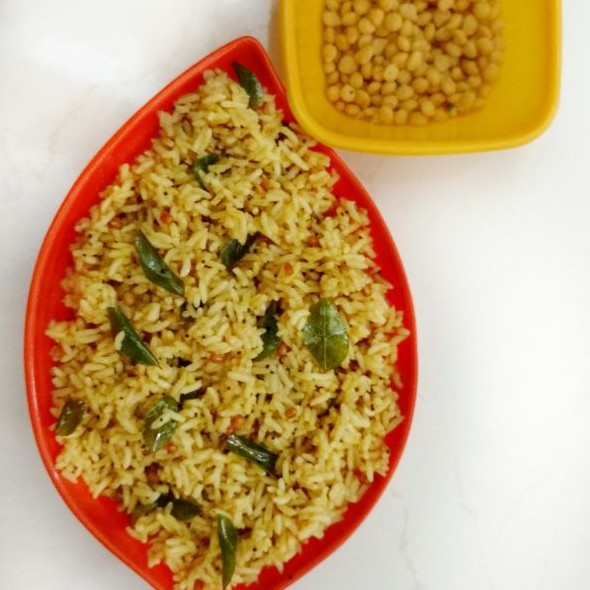 Photo of Tamarind rice with left over rice by Sivasakthi Murali at BetterButter