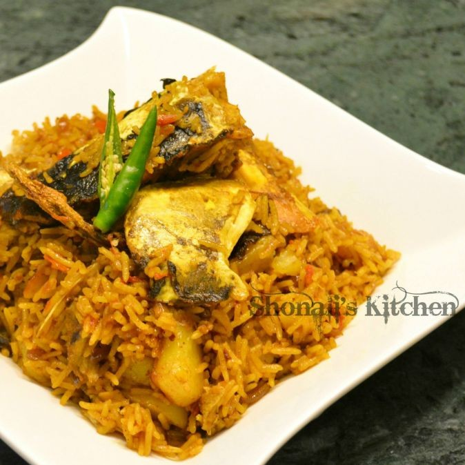 Photo of Muri Ghonto (Fish head pulao) by Shonali Debnath at BetterButter