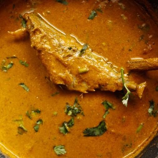 How to make  मेकरल ( बाँगरा मछली  / एक प्रकार के समुद्री मछली ) करी ।