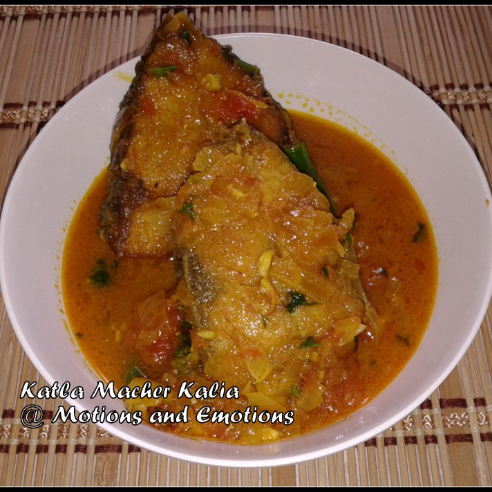 Photo of Bengali Style Fish Kalia by Amrita Roy at BetterButter