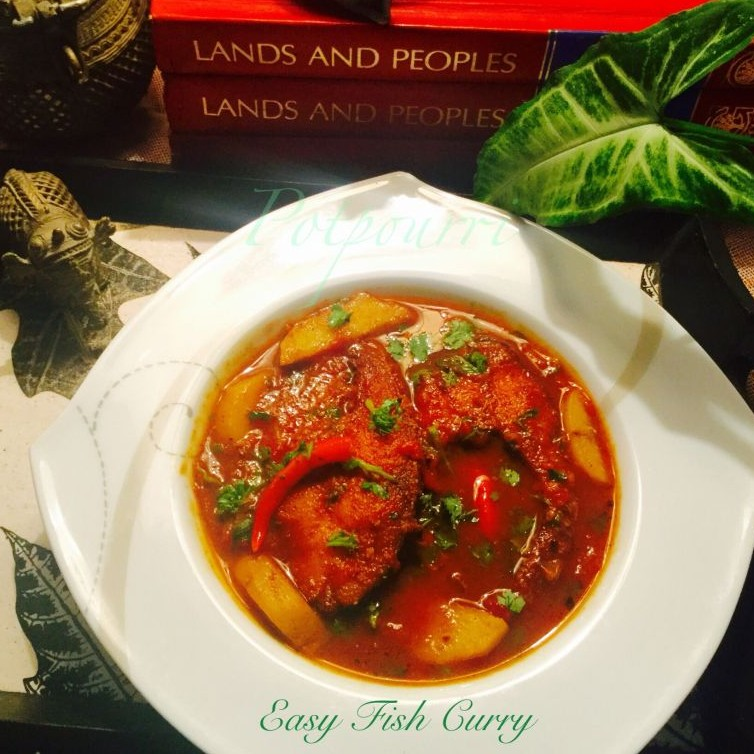 How to make Easy Fish curry in tomato gravy