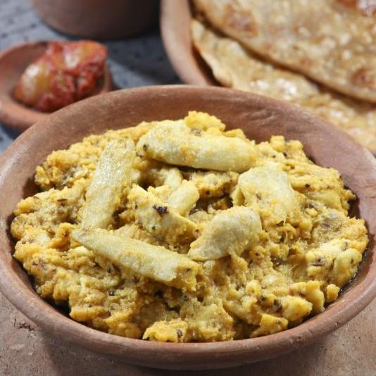 Photo of Dahi wali Arbi(Colocasia in tangy yogurt) by Bindiya Sharma at BetterButter