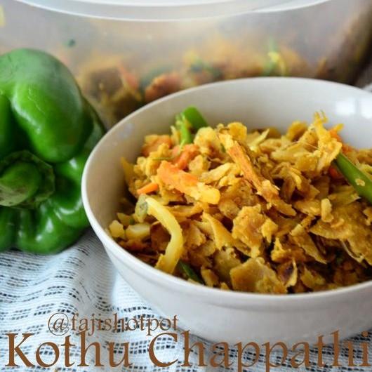 Photo of Kothu Chappathi by Fajeeda Ashik at BetterButter
