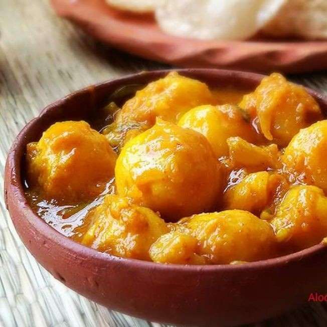 How to make Aloo Dum or Bengali Style Dum Aloo