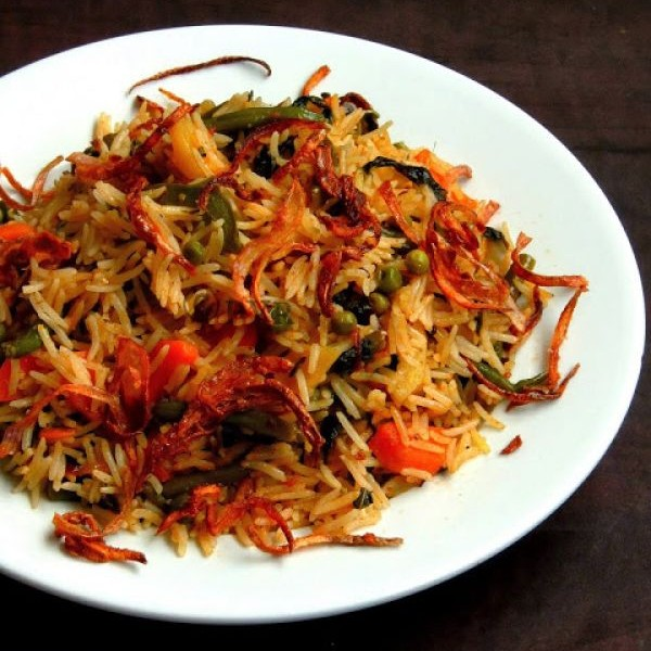 Photo of Hyderabadi vegetable Dum Biriyani by Priya Suresh at BetterButter