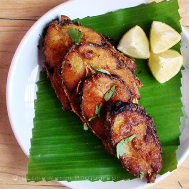 Photo of Andhra Chepala Vepudu (Andhra style spicy fish fry) by Lubna Karim at BetterButter