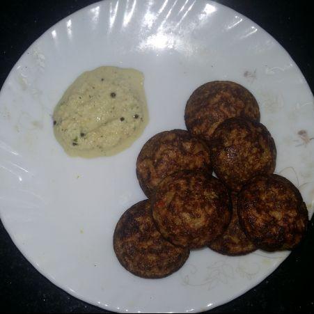 Photo of wheat kara kuzhipaniyaram by niranjana balachandar at BetterButter