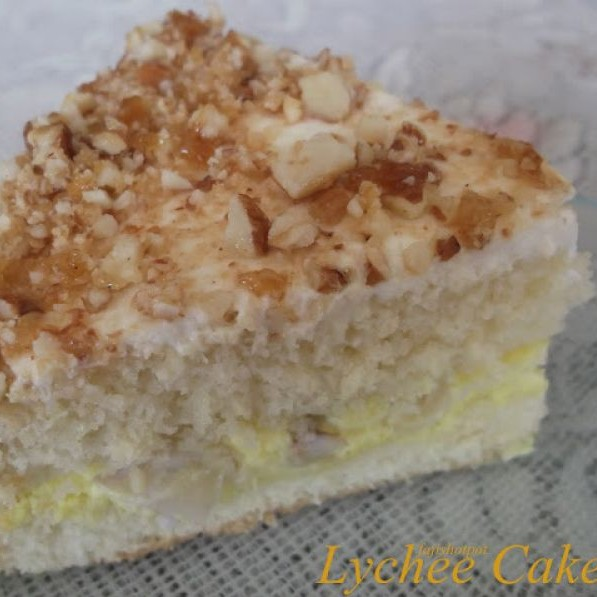 How to make Lychee Cake