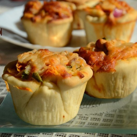 How to make Pizza Cups