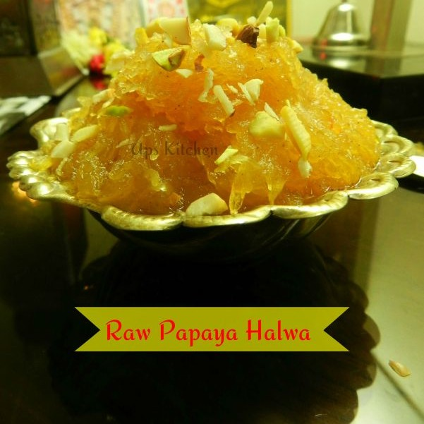 How to make Raw Papaya Halwa