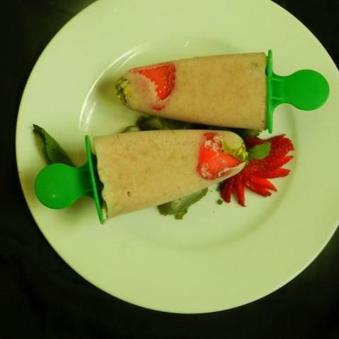 How to make Strawberry Oats Kulfi