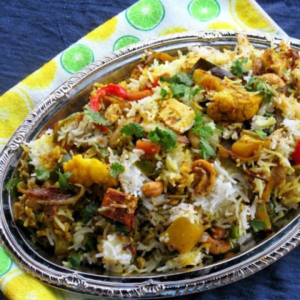 How to make Veg Dum Biryani