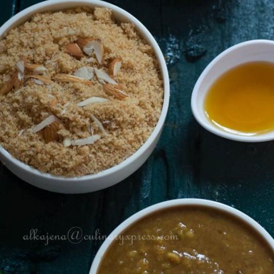 Photo of Daal Baati Churma (Rajasthani Cuisine) by Alka Jena at BetterButter