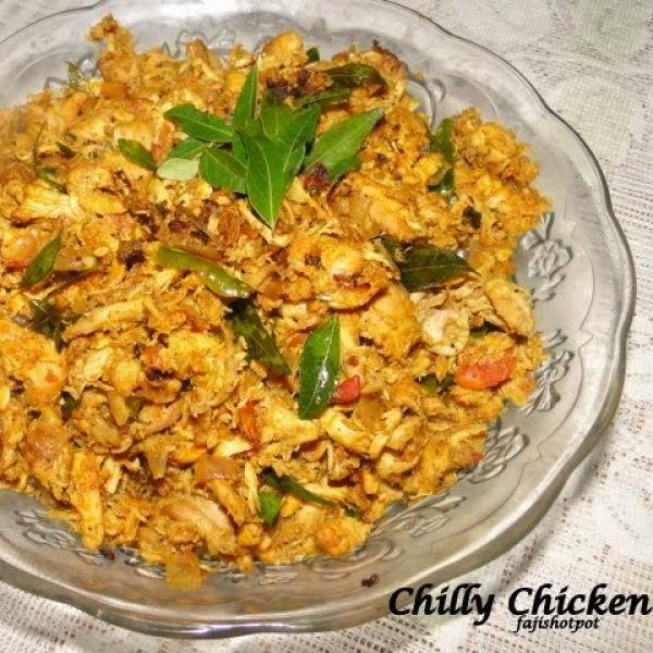 Photo of Chilly Chicken (Kerala Style) by Fajeeda Ashik at BetterButter