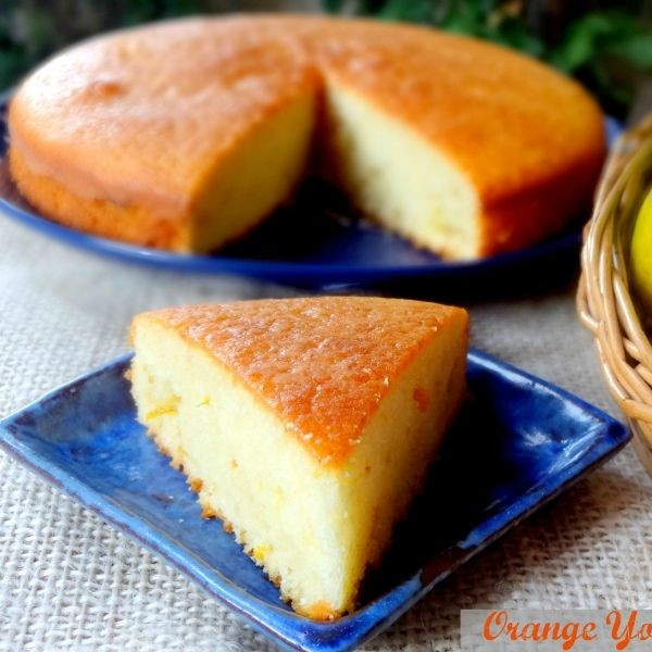 Photo of Orange Yogurt Cake (Butter free) by Namita Tiwari at BetterButter