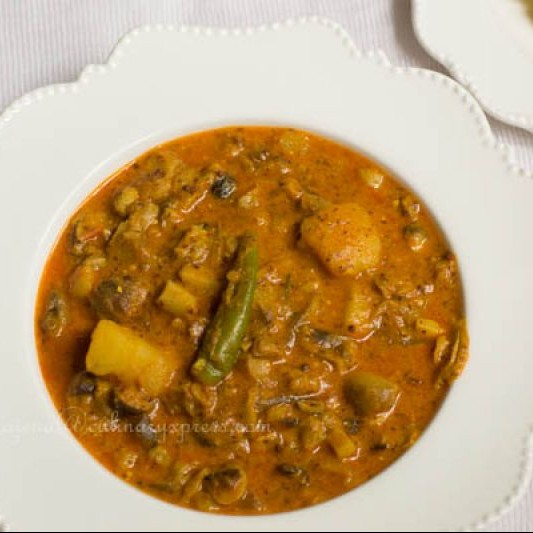 How to make Chatu Besara-Mushroom cooked in Tangy Mustard Paste ( Odia Cuisine)