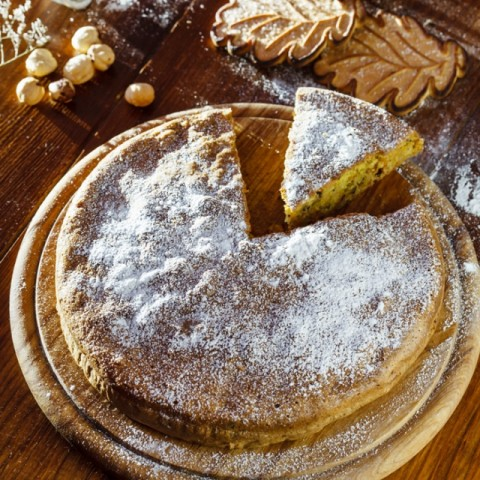 How to make Pistachio and Almond cake