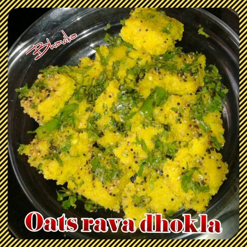 How to make Oats Rava Dhokla