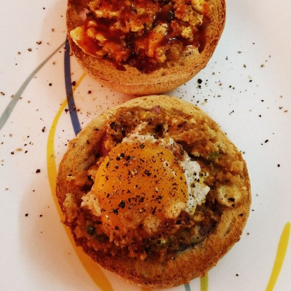 Photo of Baked rum styled eggs by Deviyani Srivastava at BetterButter