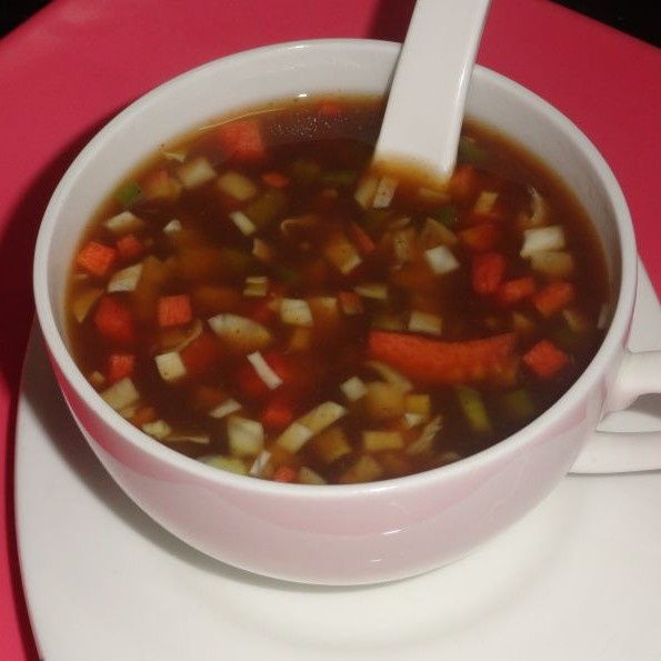 Photo of Mix veg hot and sour soup by Soniya Singh at BetterButter