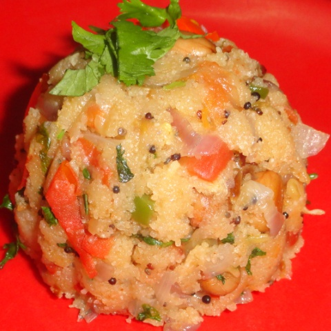 How to make Mix veg upma with oats