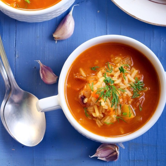Photo of Minestrone soup with orzotto by Ritu Sharma at BetterButter