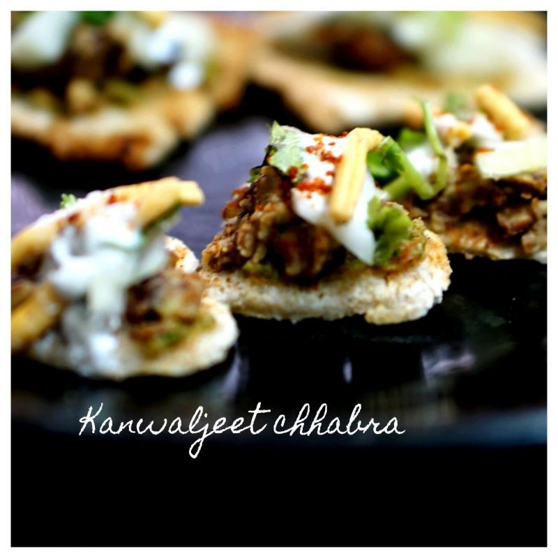 Photo of Brown bread papdi chat by Kanwaljeet Chhabra at BetterButter