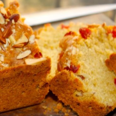 How to make Almond and Cherry Tea Loaf
