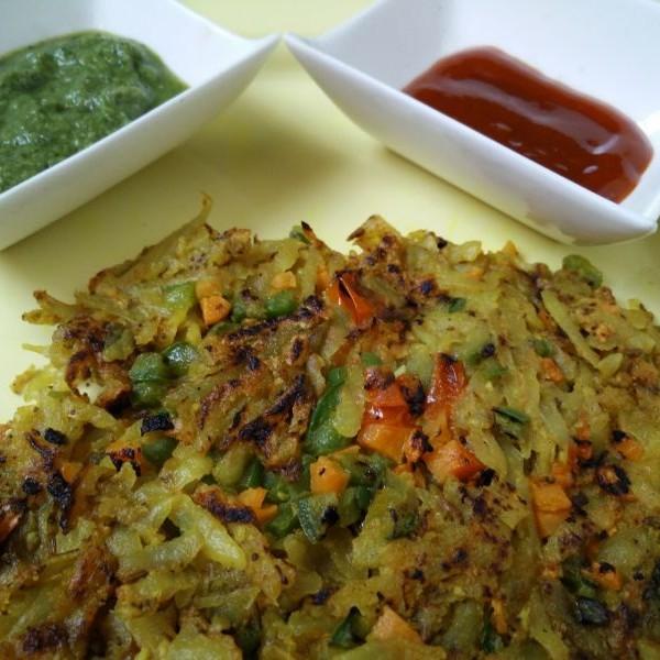 Photo of Potato Laccha Pancakes by Suhan Mahajan at BetterButter