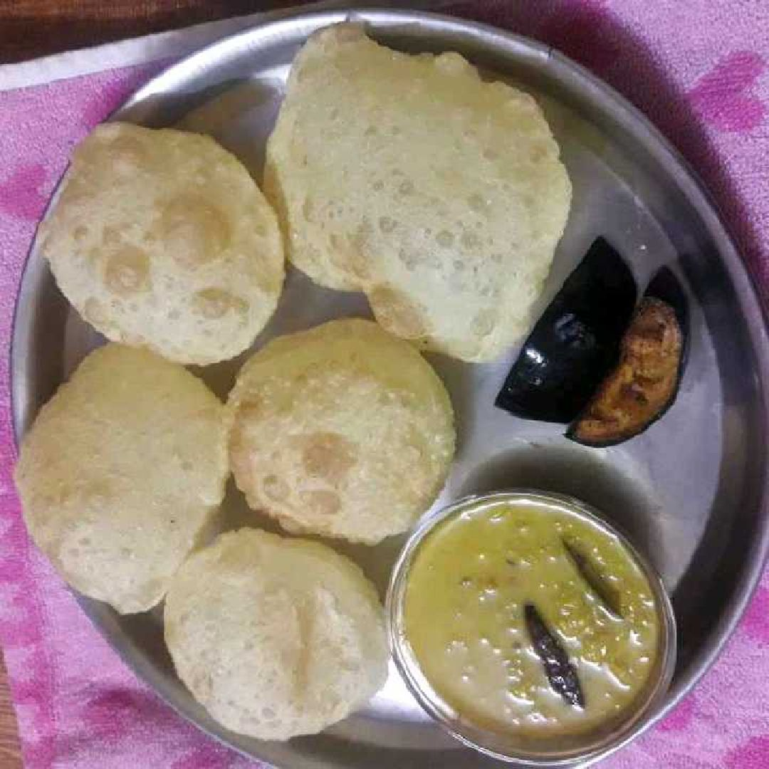 How to make पूरी