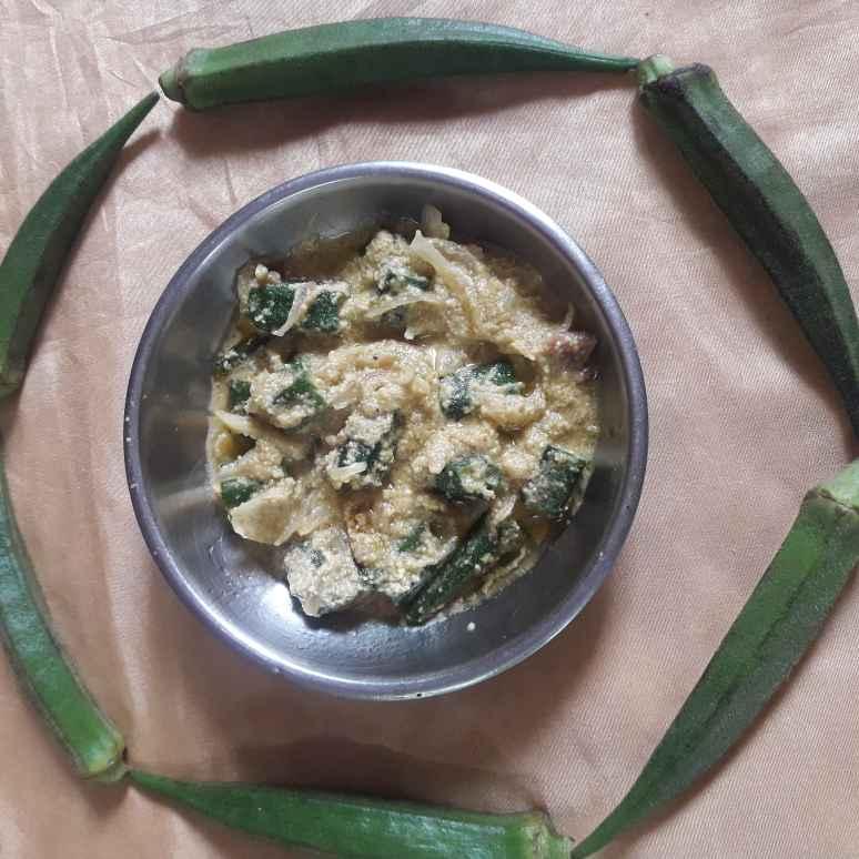How to make চটজলদি ভিন্ডি পোস্ত