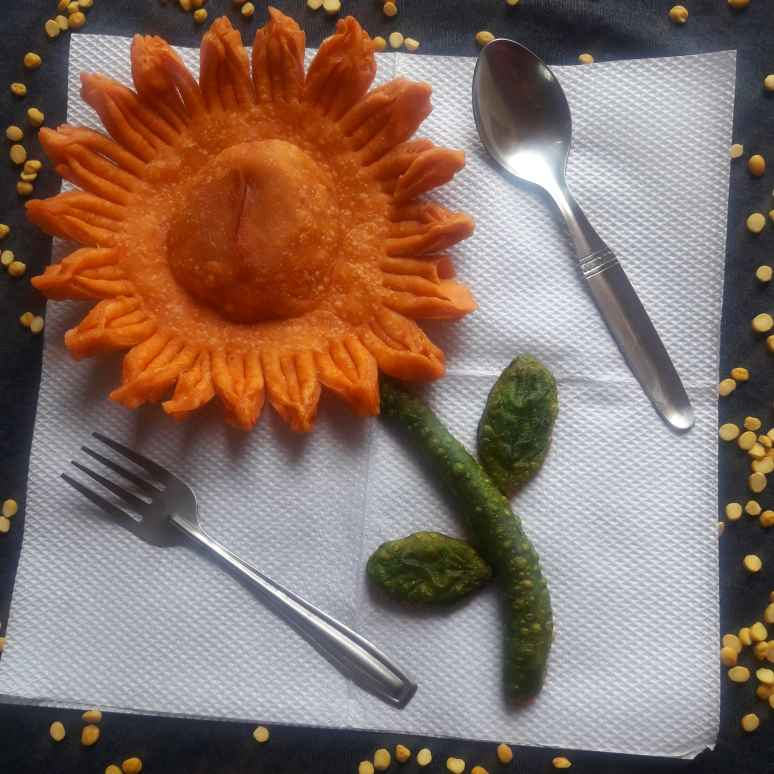 Photo of Leftover Chana Sunflower by Puja Panja at BetterButter