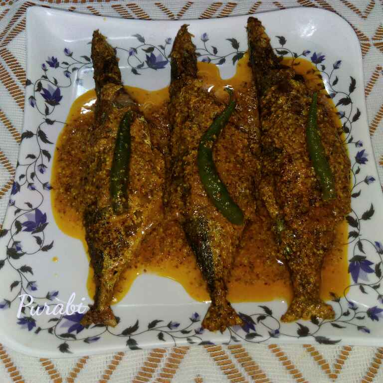 How to make Indian Mackerel fish in mustard sauce