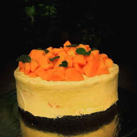 Photo of Mango cheesecake by Purna Chawla at BetterButter