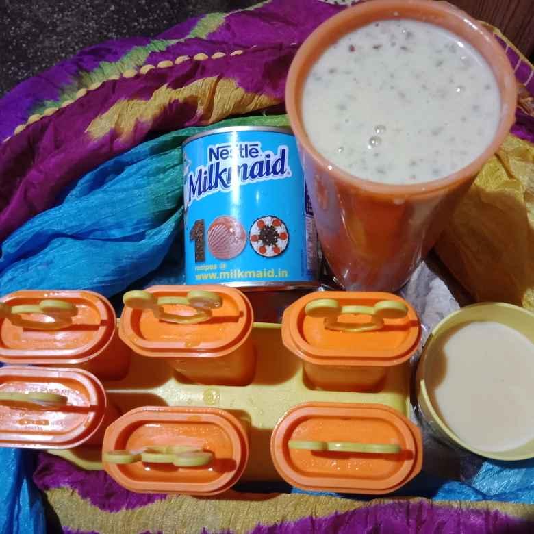 Photo of Milkmaid kulfi by Purnima Singh at BetterButter
