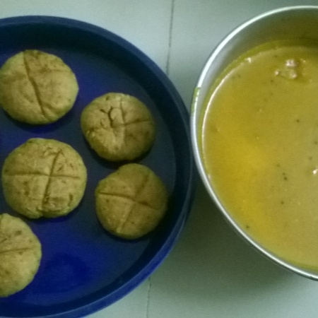 How to make Daal baati