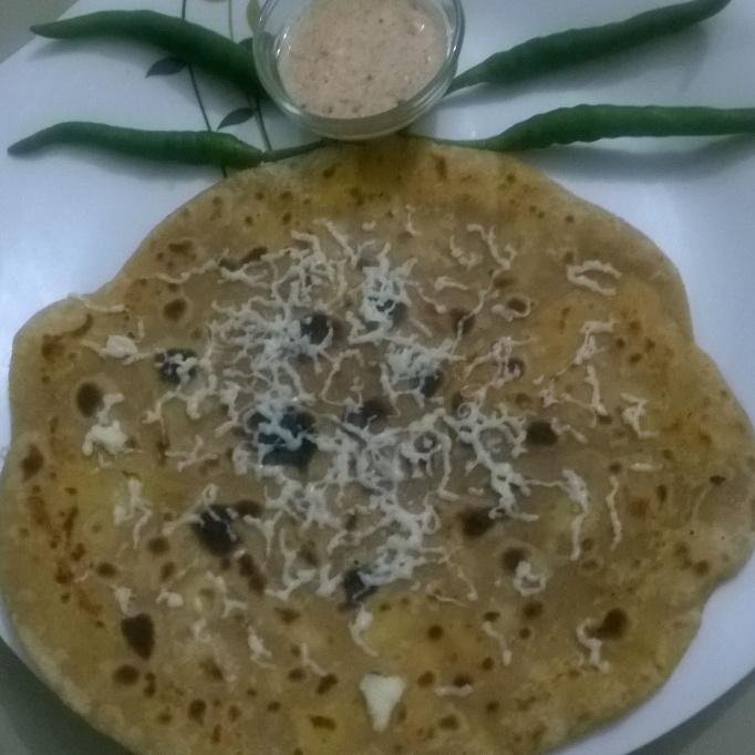 Photo of Cheese aloo paratha by purva kulkarni at BetterButter