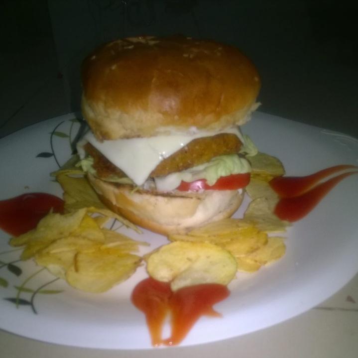Photo of Veg Burger by purva kulkarni at BetterButter