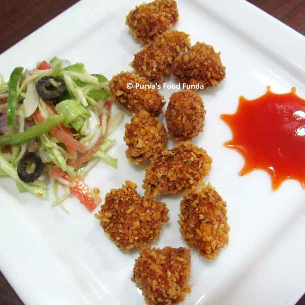 Photo of Chicken Popcorns by Purva Sawant at BetterButter