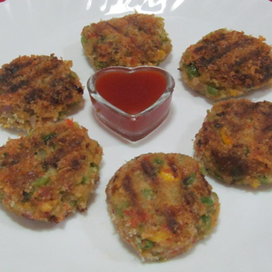 How to make Tofu and Vegetables Cutlet