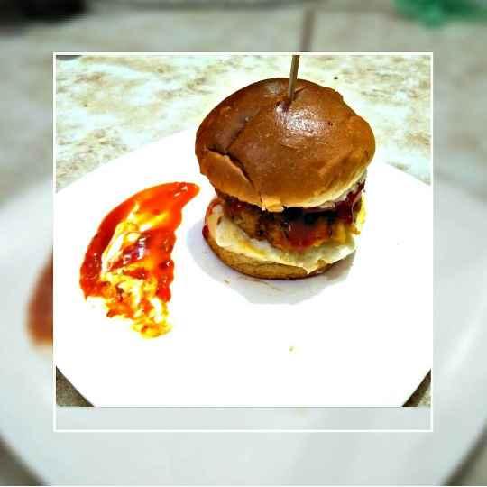 How to make Soya burger...