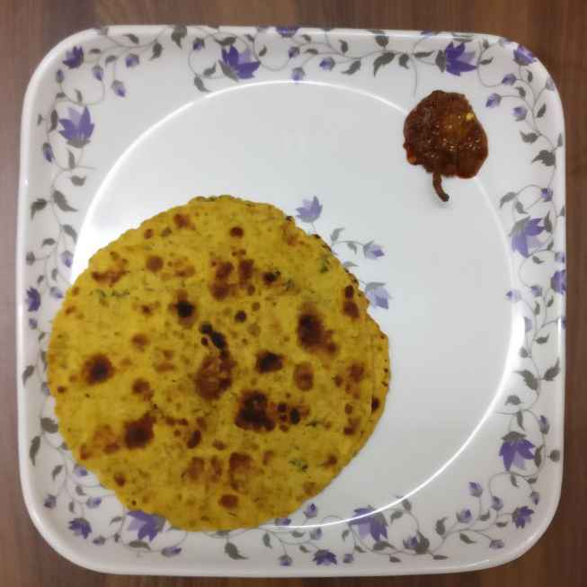 How to make Paneer paratha.