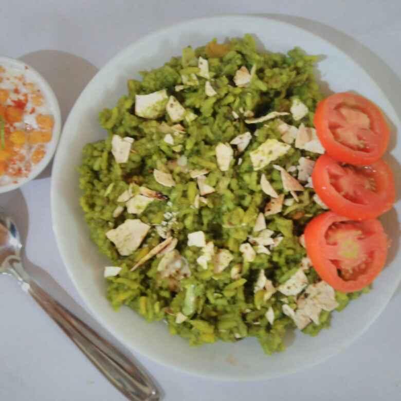 Photo of Spinach khichdi by Purvi Modi at BetterButter