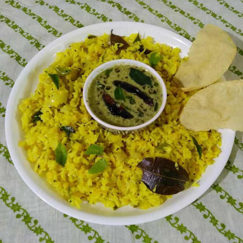 Photo of Hyderabadi khichdi with til khatta by Purvi Modi at BetterButter
