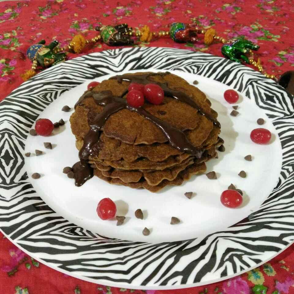 How to make ચોકલેટ પેનકેક
