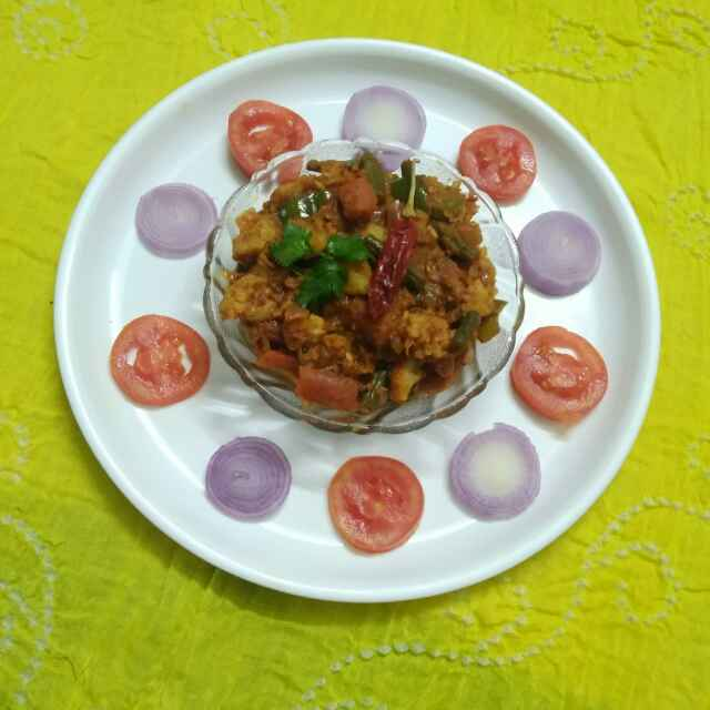 Photo of Veg. Kolhapuri by Purvi Modi at BetterButter