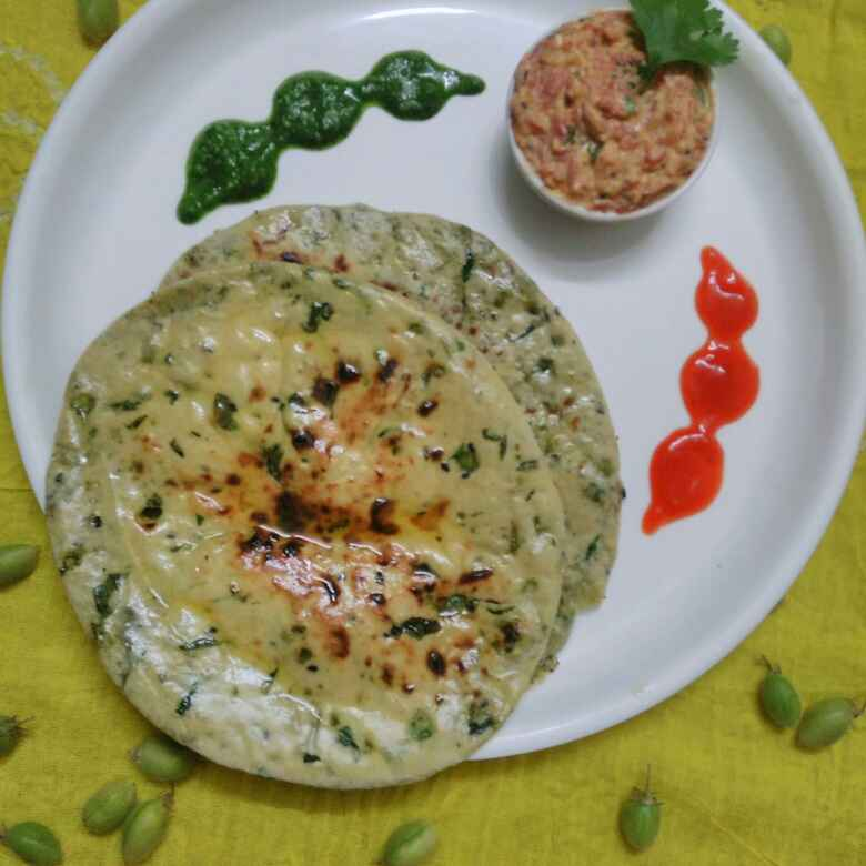 Photo of Stuffed chana paneer kulcha by Purvi Modi at BetterButter