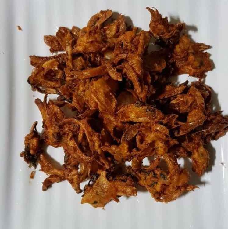 How to make Onion fritters