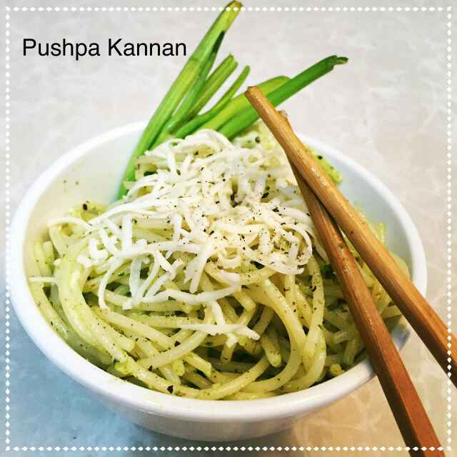 How to make Parsley Pan Fried Noodles