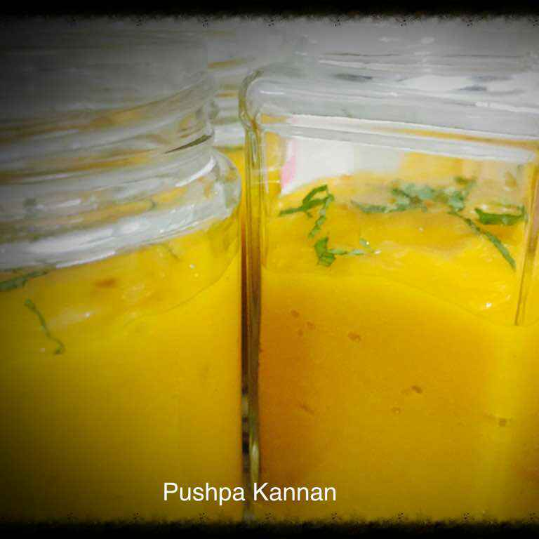 Photo of Chilled Mango Smoothie by Pushpa kannan at BetterButter